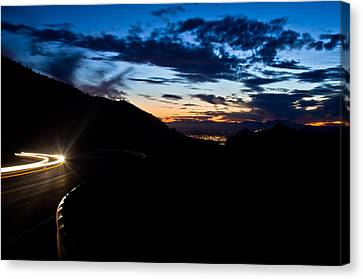 Goodnight Tucson Canvas Print by Swift Family