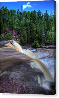 Gooseberry Falls Canvas Print by Shawn Everhart