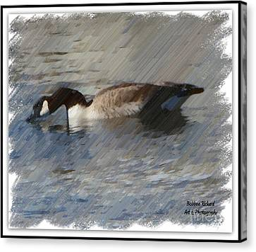 Goosey Lucy Painting Canvas Print