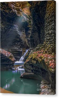 Gorge Serenity Canvas Print