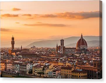 Gorgeous Florence City Canvas Print