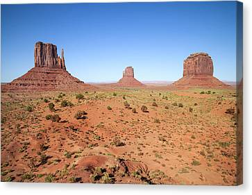 Navajo Nation Canvas Print - Gorgeous Monument Valley by Melanie Viola