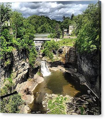 Gorges Canvas Print by Mike Maher