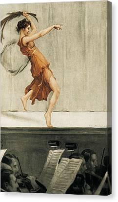 Gorguet, Auguste Fran�ois Marie Canvas Print by Everett