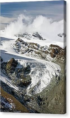 Gorner Glacier Canvas Print