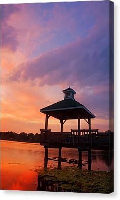 Gorton Pond Beauty Warwick Rhode Island Canvas Print