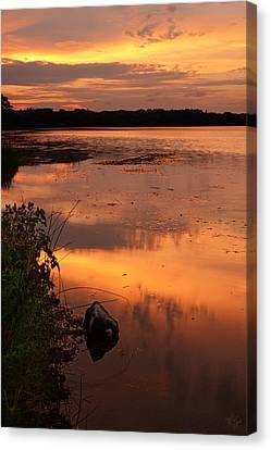 Gorton Pond Warwick Rhode Island Canvas Print