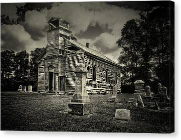 Abandoned Canvas Print - Gospel Center Church II by Tom Mc Nemar