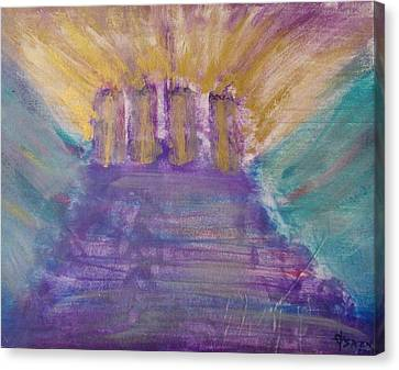 Gospel Pillars Canvas Print