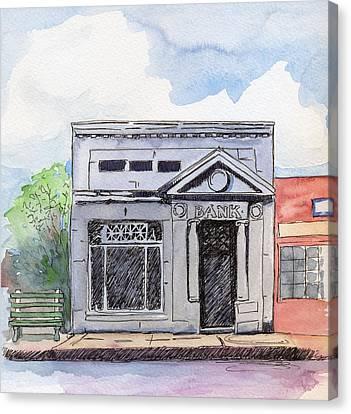 Gosport Bank Canvas Print by Katherine Miller