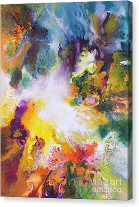 Gossamer Canvas Print by Sally Trace
