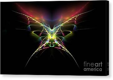 Gossamer Wings Canvas Print by Greg Moores