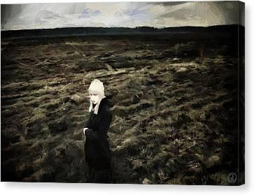 Goth Autumn Canvas Print by Gun Legler