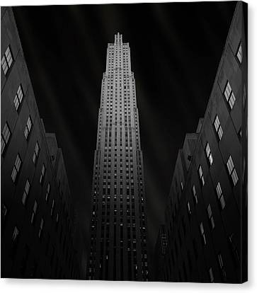 Gotham Canvas Print by Ben Rea