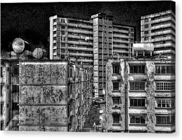 Gotham City Panama Style Canvas Print