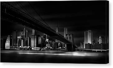 Gotham City. Canvas Print by Peter Futo