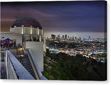 Gotham Griffith Observatory Canvas Print