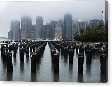 Gotham Mist Canvas Print by Michael Murphy