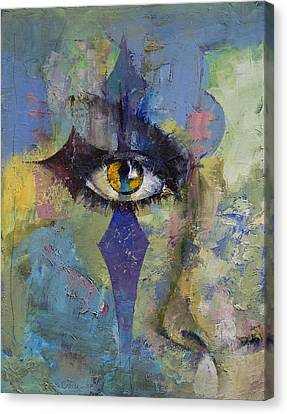 Gothic Art Canvas Print by Michael Creese