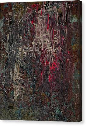 Gothic Cathedral  Canvas Print by Oscar Penalber