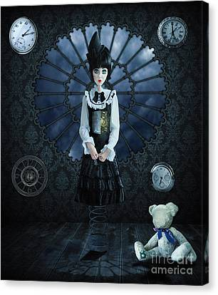 Gothic Girl Canvas Print by Juli Scalzi