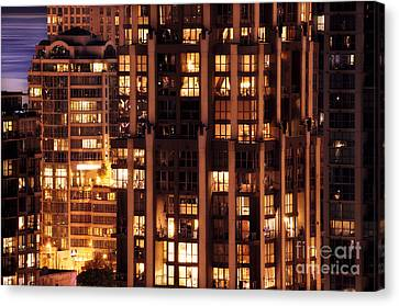 Canvas Print featuring the photograph Gothic Living - Yaletown Ccclxxx by Amyn Nasser