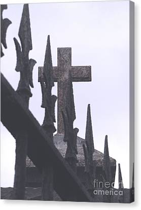 Canvas Print featuring the photograph Gothic by Melissa Stoudt