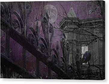 Gothic Moonlight Canvas Print