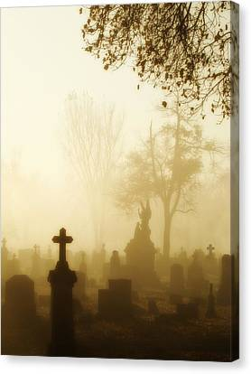 Gothic Morning Canvas Print by Gothicrow Images