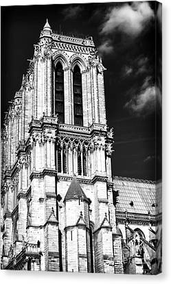 Gothic Notre Dame Canvas Print by John Rizzuto