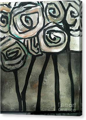 Sofa Size Canvas Print - Gothic Roses by Michelle Tynan