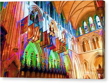 Gothic Splendor Canvas Print by Vicky Tarcau