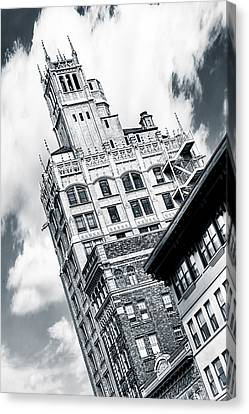 Gothic Towers - Asheville North Carolina Canvas Print