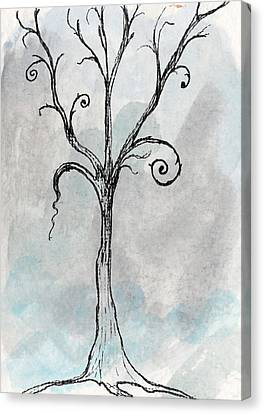 Gothic Tree Canvas Print by Jacquie Gouveia