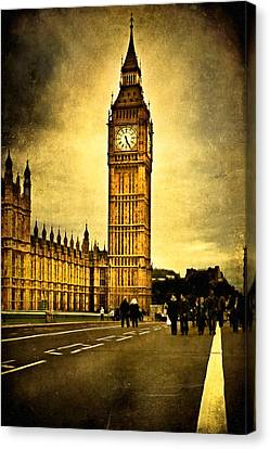 Big Ben Canvas Print - Gothic Westminster - Big Ben by Mark E Tisdale