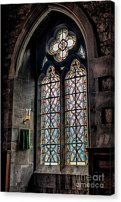 Gothic Window Canvas Print by Adrian Evans