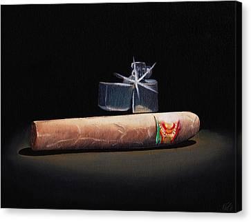 Gotta Light Canvas Print by Nicko Gutierrez