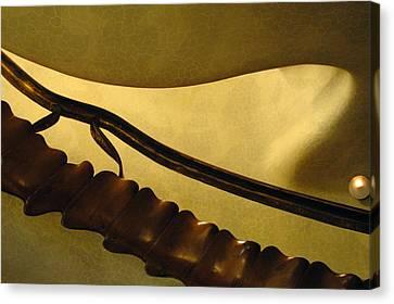 Goudi Staircase Canvas Print by Kathy Schumann