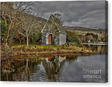 Gougane Barra Canvas Print by Joe Cashin