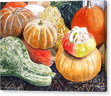 Gourds Canvas Print