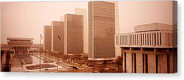 Government Center, Albany, New York Canvas Print by Panoramic Images