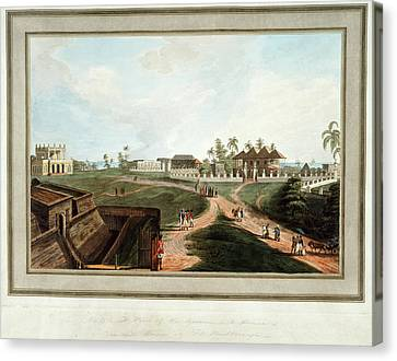Government House And Council House Canvas Print