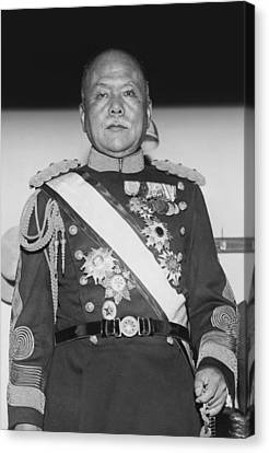 Governor General Of Korea Canvas Print by Underwood Archives