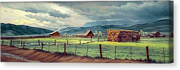 Granby Ranch Canvas Print by Paul Krapf