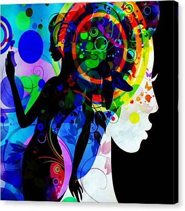 Grace Canvas Print - Grace by Angelina Vick