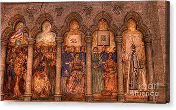 Grace Cathedral Mural Canvas Print by David Bearden