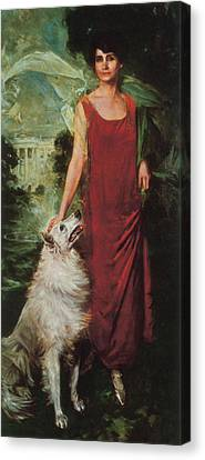 First Ladies Canvas Print - Grace Coolidge, First Lady by Science Source