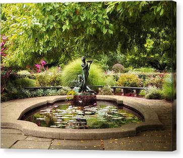Grace In The Park Canvas Print by Jessica Jenney