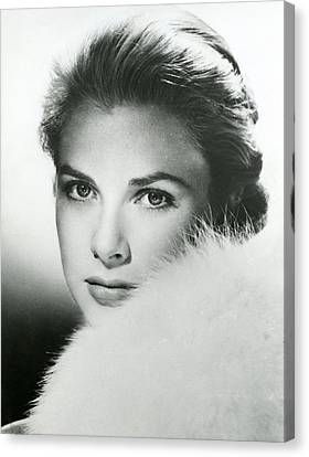 Grace Kelly Close Up Canvas Print by Retro Images Archive