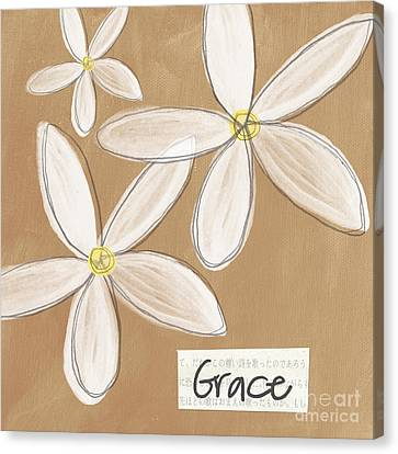 Grace Canvas Print by Linda Woods